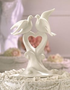 Wedding Doves Cake Topper